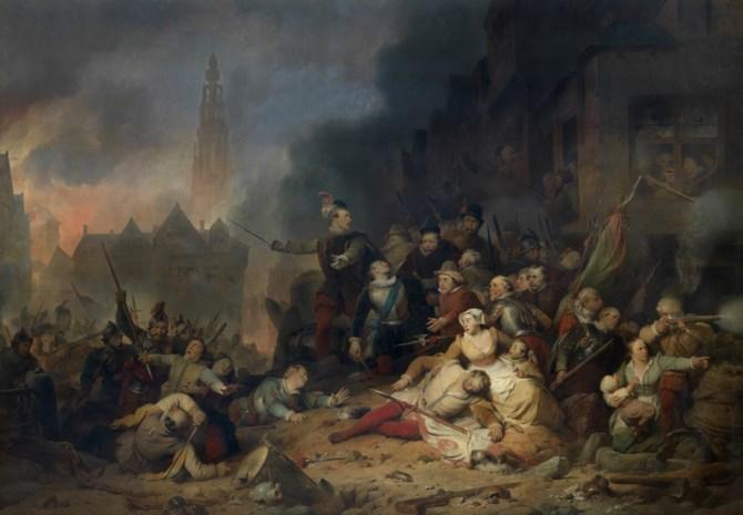 Antwerpen kwaad op Spaanse stad Madrid over viering Spaanse Furie