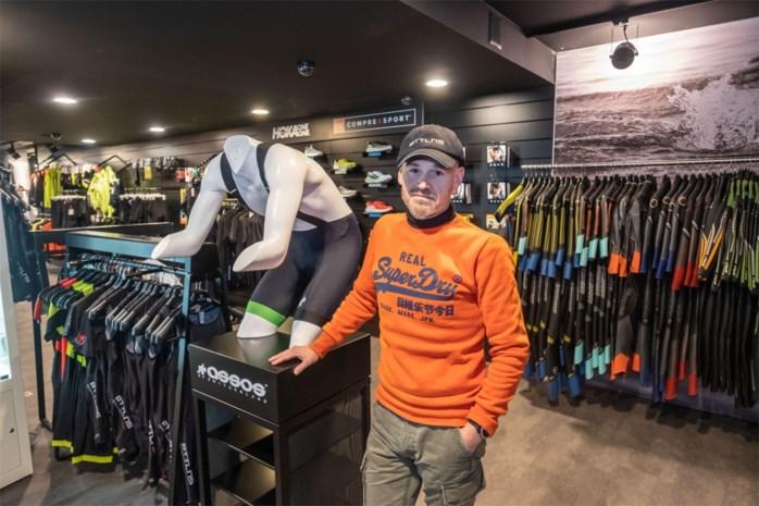"""Webshop voor triatleten opent fysieke winkel in Brasschaat: """"Triatlon is een echte hype"""""""