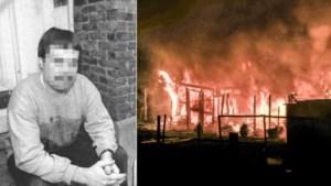 Brandwonde en aansteker deden pyromaan uiteindelijk de das om
