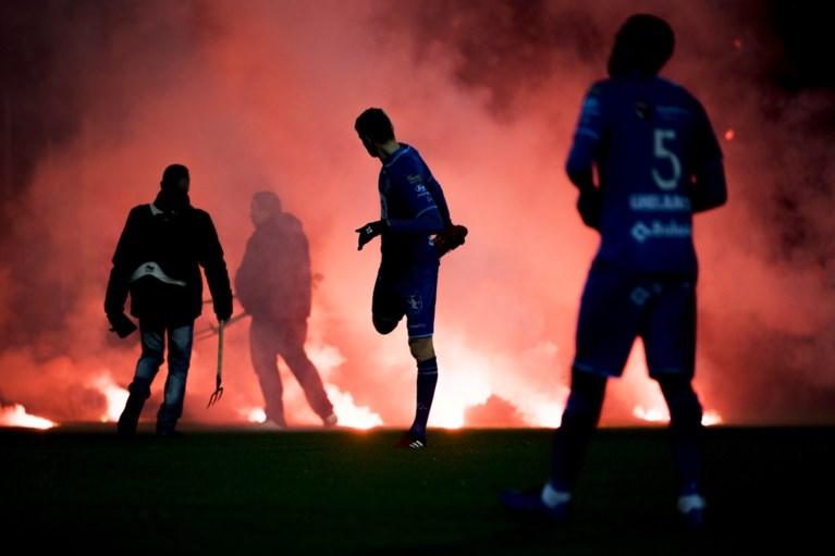 """AA Gent veroordeelt """"wangedrag"""" van eigen supporters in Mechelen"""