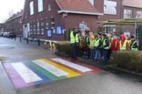 """Steeds meer regenboogzebrapaden in schoolomgevingen: """"Diversiteit zichtbaar maken"""""""
