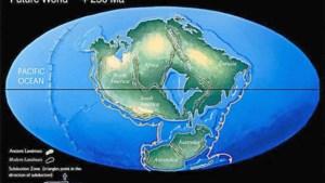 Geologen voorspellen dat continenten over miljoenen jaren weer samensmelten (behalve Engeland)