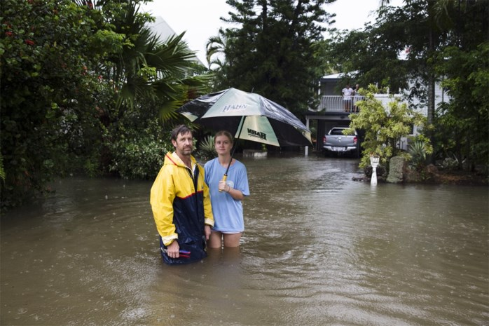 Na bosbranden kampt Australië met overstromingen en tropische cycloon