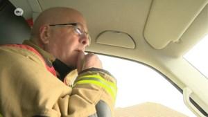 Storm Ciara, één dag later: op pad met brandweer om schade te meten
