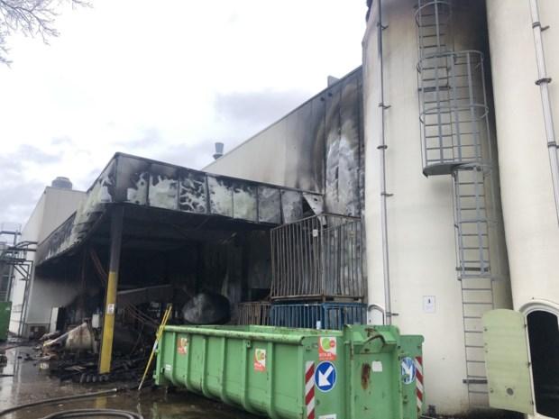 Felle brand in opslagruimte beschadigt Sas Koffie