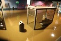 VIDEO. Wateroverlast aan station Antwerpen-Berchem door storm Ciara