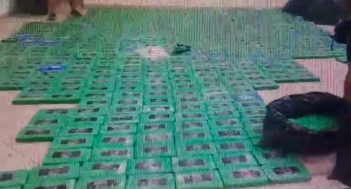 3,2 ton cocaïne voor Antwerpen onderschept in Ecuador