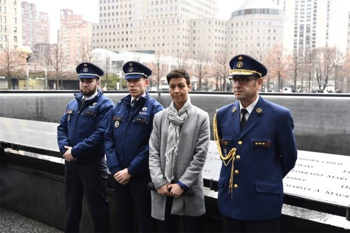 Politieagenten die terreur van Zaventem en Maalbeek overleefden, wonen herdenking 9/11 bij