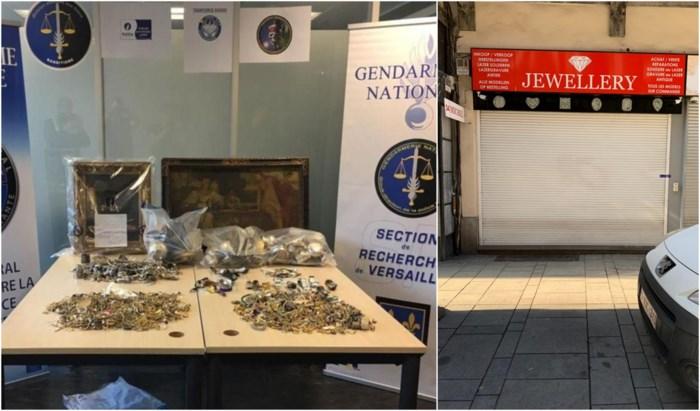 Juwelier Pelikaanstraat en drie koeriers gearresteerd die gestolen juwelen verkochten