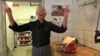 Vijfhonderd gram gehakt mét een totaalspektakel bij meest flamboyante slager van het land