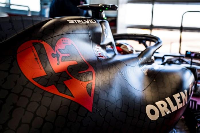 F1-bolide Alfa Romeo krijgt speciale livery voor Valentijn