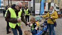 Fietsersbond deelt warme chocomelk uit en maakt balans op van nieuwe fietszone