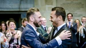 """Christophe en Nick trouwen als eerste holebikoppel in 'Blind Getrouwd': """"Ik was maar voor één ding bang..."""""""