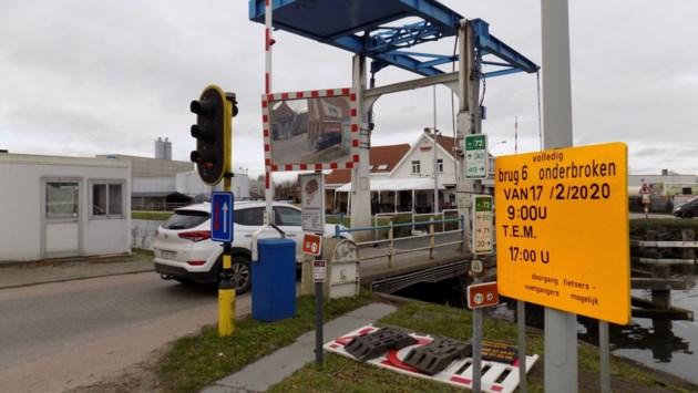 Hinder voor verkeer door werkzaamheden aan bruggen