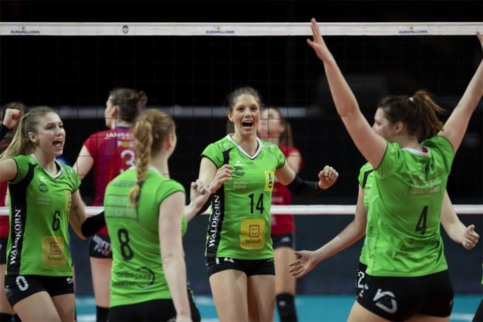 Hermes Oostende wint volleybalbeker bij de vrouwen: recordhouder Asterix Avo sneuvelt in dramatische tiebreak