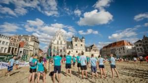 Na 22 jaar op Grote Markt verhuizen beachvolley en kinderstrand naar Douaneplein