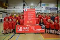 Volleybalclub smasht feestweekend in elkaar voor vijftigste verjaardag en zoekt oud-leden