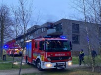 Brand in wasmachine gaat gepaard met hevige rookontwikkeling