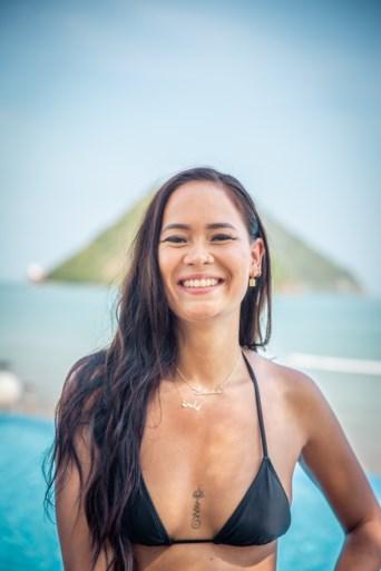 Kunza (23) uit Wommelgem is een van de verleidsters van 'Temptation Island'
