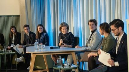 """Studenten management krijgen les over duurzaamheid van koningin Mathilde: """"Onder de indruk van hun idealisme"""""""