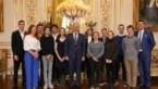 Leerlingen Sint-Jozef Kontich op bezoek bij Koning