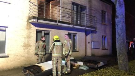 Brand vernielt slaapkamer