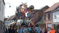 Chocolade in plaats van confetti: Carnavalsstoet rijdt uit met Pasen