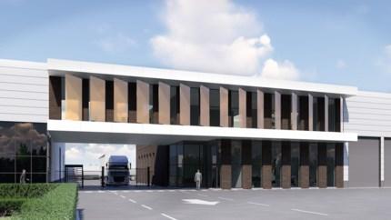 Staalbeton bouwt duurzaam nieuw kantoor met koelplafond en glazen lamellen