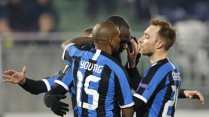 Invaller Lukaku helpt Inter met doelpunt voorbij Loedogorets in Europa League