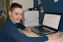 """Jasper (12) kwalificeert zich voor finale STEM-olympiade: """"Niet zo dat ik de hele dag wiskundevraagstukken aan het oplossen ben"""""""