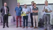 Gemeente in zee met Zonnewind voor verledden turnzaal en gemeentemagazijn