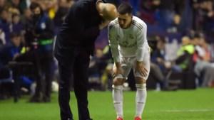 Real Madrid verliest en ziet Eden Hazard weer uitvallen met enkelblessure