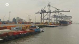 Pak minder containers in Antwerpse haven door coronavirus