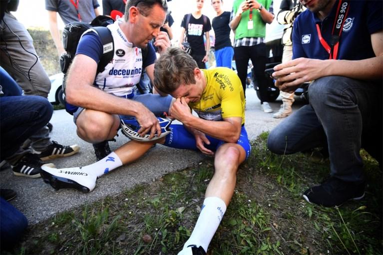 Evenepoel moet diep gaan maar blijft leider in Ronde van Algarve