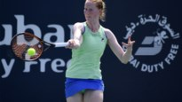 Ook Alison Van Uytvanck mag naar tweede ronde op WTA Doha