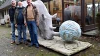 Webshop verkoopt standbeeld op ware grootte van intussen uitgestorven noordelijke witte neushoorn