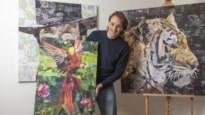 Liezelse kunstenaar verovert wereld met collages van gerecycleerde magazines
