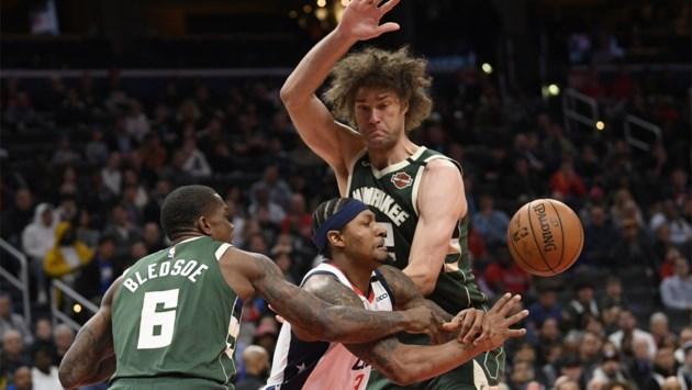 NBA: Washington plooit ondanks 55 punten van Bradley Beal voor leider Milwaukee