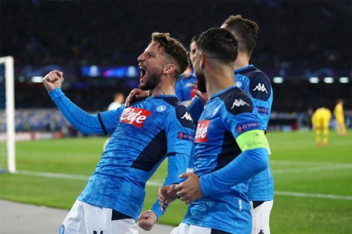 Finalmente! Dries Mertens evenaart clubrecord met 121ste doelpunt voor Napoli