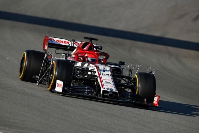 Red Bull kent problemen tijdens F1-test, Poolse reserverijder rijdt snelste tijd