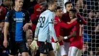 Tienkoppig Club Brugge verlaat Europees toneel met forfaitcijfers tegen Man United