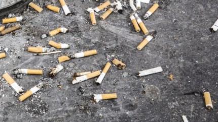 Actie met Mooimakers tegen sigarettenpeuken