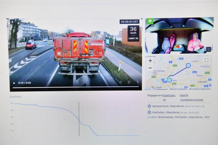 DISCUSSIE. Truckchauffeurs filmen achter hun stuur: kwestie van veiligheid?