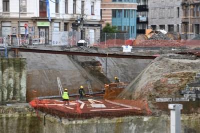 Stukje vergeten geschiedenis even aan de oppervlakte bij aanleg ondergrondse parking Gedempte Zuiderdokken