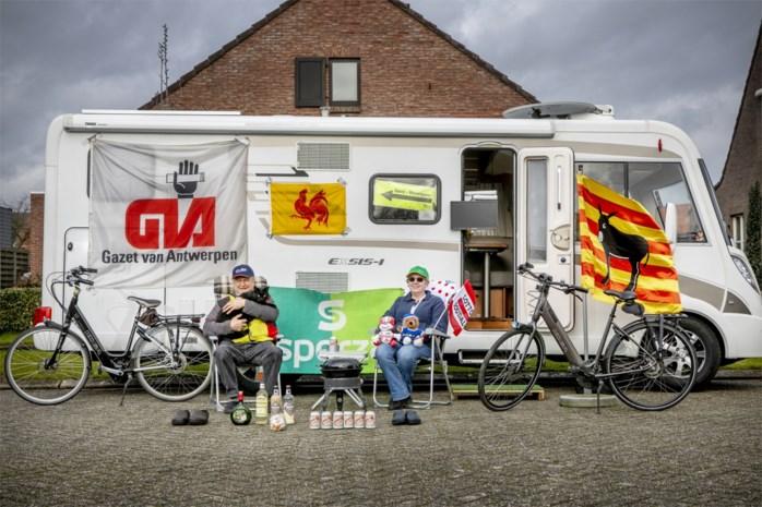 """Arendonkse fans Leon en Brigitte volgen het wielercircus met hun mobilhome: """"Heel het voorjaar zitten we op de eerste rij"""""""