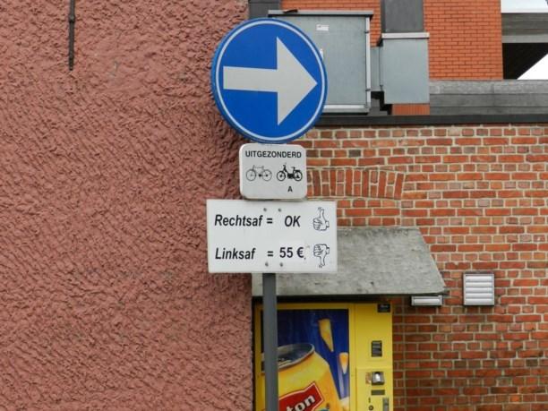 Camera registreert acht spookrijders in Bavelstraat