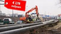 Aan deze voorbereidingen voor Oosterweel hangt al een prijskaartje van 178 miljoen euro