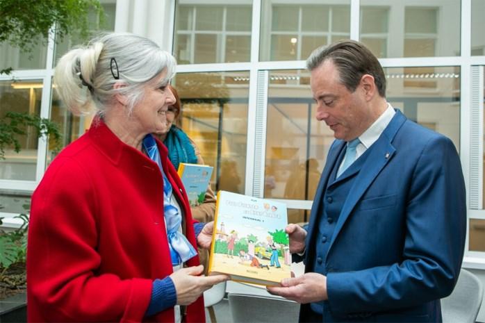 Eerste verzamelbundel Piet Pienter en Bert Bibber is voor Bart De Wever