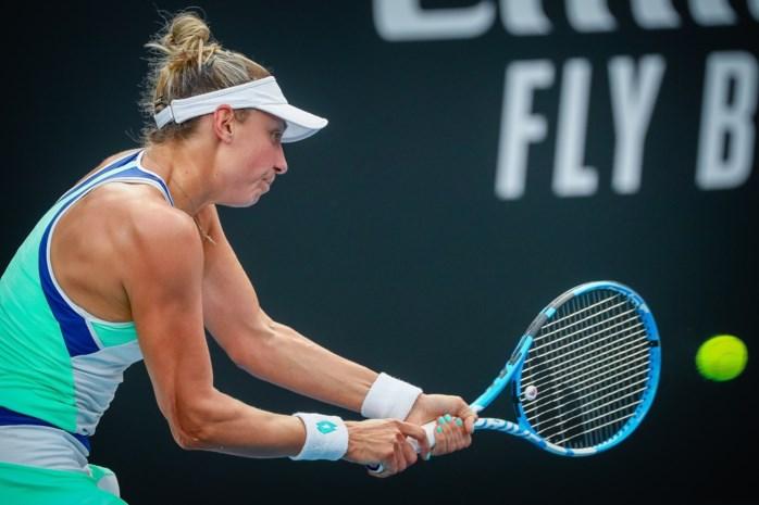 Yanina Wickmayer neemt vlot eerste horde op WTA-toernooi Indian Wells