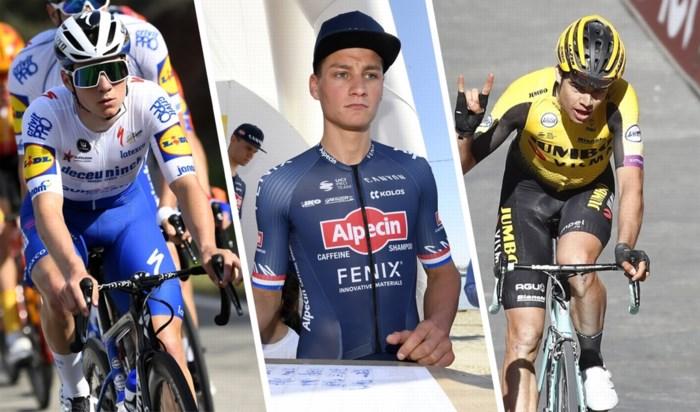 OVERZICHT. Dit doen ploegen nu Strade Bianche niet doorgaat, geen Greg Van Avermaet en Wout van Aert in Parijs-Nice